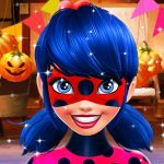 Halloween Cheating Ladybug